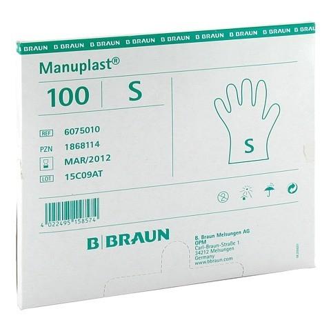 MANUPLAST Einmal Handschuhe PE klein 100 Stück