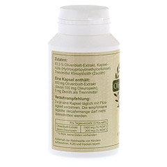 OLIVENBLATT Extrakt 500 mg Mono-Kapseln 60 Stück - Linke Seite
