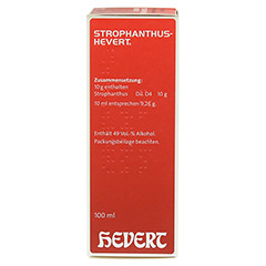 STROPHANTHUS HEVERT Tropfen 100 Milliliter N2 - Rechte Seite