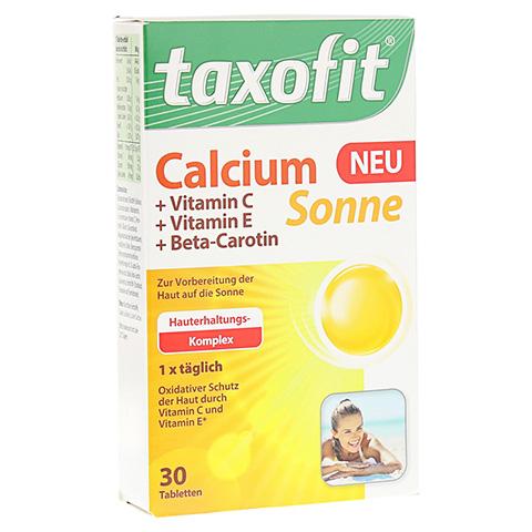 TAXOFIT Calcium Sonne Tabletten 30 Stück