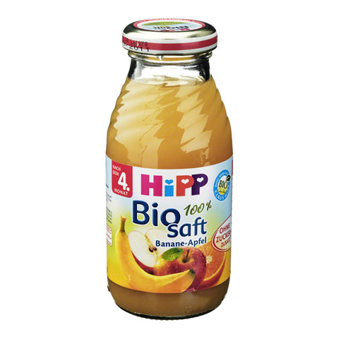 HIPP Bio Saft 100% Banane-Apfel 0.2 Liter