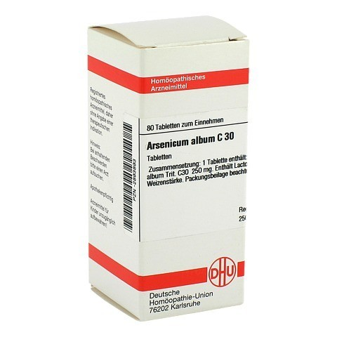 ARSENICUM ALBUM C 30 Tabletten 80 St�ck