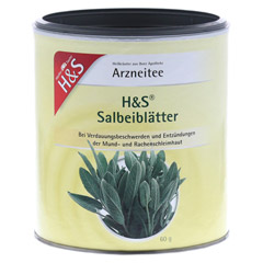H&S Salbeibl�tter (loser Tee) 60 Gramm