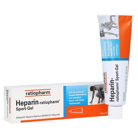 Heparin-ratiopharm Sport 100 Gramm N2