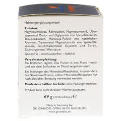MAGNESIUM DIREKT 400 mg Grandelat Pulver 20 Stück - Rechte Seite