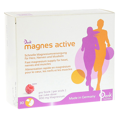MAGNES active Denk Pulver 30 Stück
