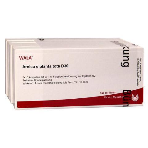ARNICA E Planta tota D 30 Ampullen 50x1 Milliliter N2
