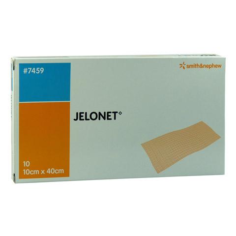 JELONET Paraffingaze 10x40 cm steril 10 Stück
