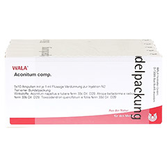 ACONITUM COMP.Ampullen 50x1 Milliliter N2 - Vorderseite