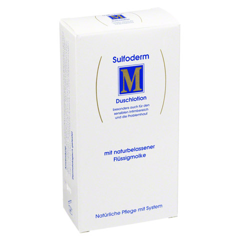 SULFODERM M Duschlotion 200 Milliliter