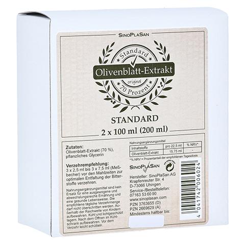 OLIVENBLATT-Extrakt flüssig Doppelpack 2x100 Milliliter