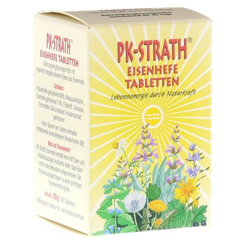 PK STRATH Eisenhefe Tabletten 140 Stück