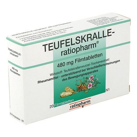TEUFELSKRALLE-ratiopharm 20 Stück N1