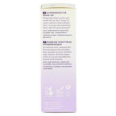 DADO Hypersensitives Make-up hazel 02w 30 Milliliter - Linke Seite