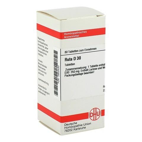 RUTA D 30 Tabletten 80 Stück
