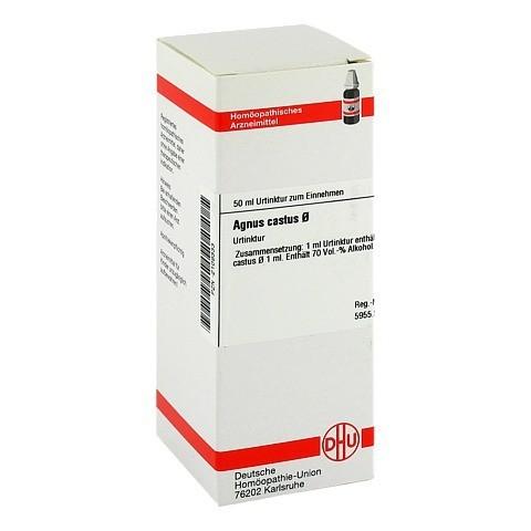 AGNUS CASTUS Urtinktur D 1 50 Milliliter N1