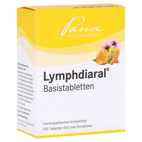 LYMPHDIARAL BASISTABLETTEN 100 St�ck N1