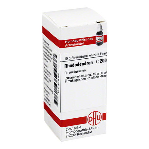RHODODENDRON C 200 Globuli 10 Gramm N1