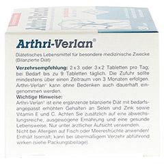 ARTHRI VERLAN Tabletten 200 Stück - Rechte Seite