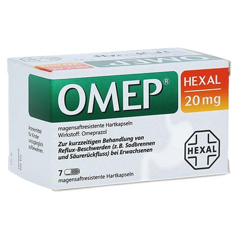 OMEP HEXAL 20mg 7 Stück