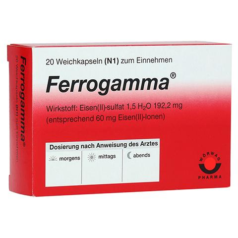 Ferrogamma 20 Stück N1