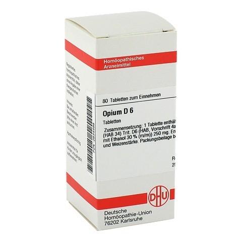 OPIUM D 6 Tabletten 80 Stück N1