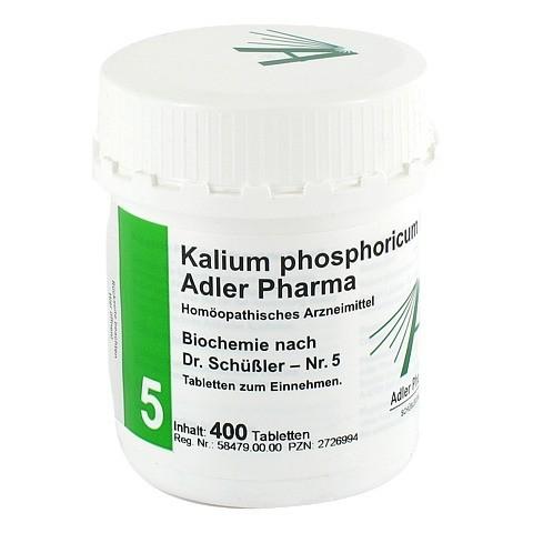 BIOCHEMIE Adler 5 Kalium phosphoricum D 6 Tabl. 400 Stück