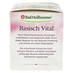 BAD HEILBRUNNER Kr�utertee Basisch Vital Filterb. 20 St�ck - Rechte Seite