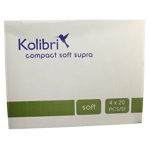 KOLIBRI compact soft Vorlagen anatomisch supra 4x20 Stück