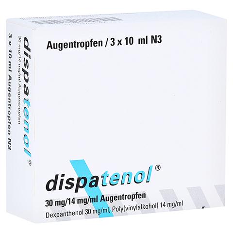 DISPATENOL Augentropfen 3x10 Milliliter N3