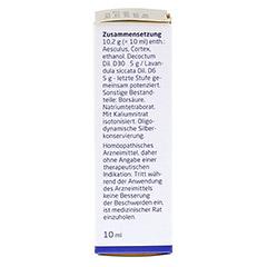 AESCULUS CORTEX D 30/Lavandula D 6 aa Augentropfen 10 Milliliter N1 - Linke Seite
