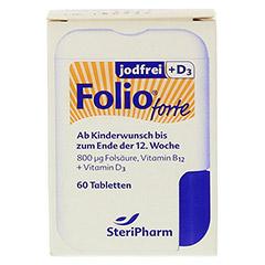 FOLIO forte jodfrei+D3 Filmtabletten 60 Stück - Vorderseite