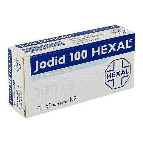 Jodid 100µg HEXAL 50 Stück N2