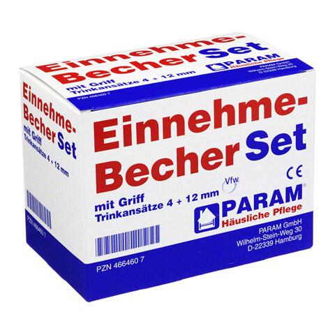 EINNEHMEBECHER Kunststoff Set 4+12 mm m.Griff 1 Stück