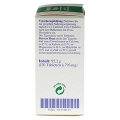 BASOSYX Hepa Syxyl Tabletten 120 Stück - Linke Seite