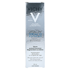 Vichy LIFTACTIV SUPREME Serum 10 Konzentrat 30 Milliliter - Rückseite