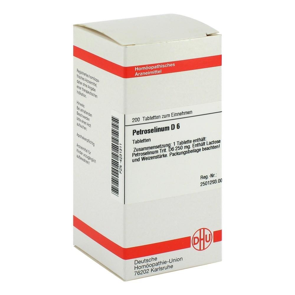 PETROSELINUM D 6 Tabletten 200 Stück