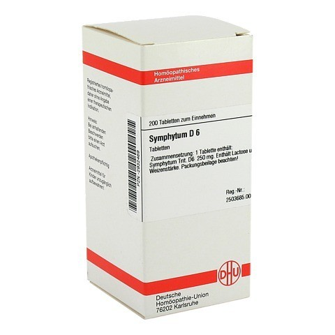 SYMPHYTUM D 6 Tabletten 200 Stück N2
