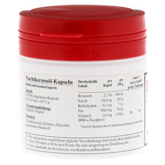 HYPO A Nachtkerzenöl Kapseln 150 Stück - Linke Seite