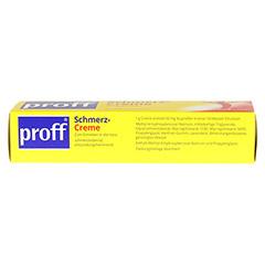 Proff Schmerzcreme 50mg/g 150 Gramm N3 - Rechte Seite