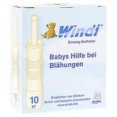 WINDI Babys Blähungshilfe Katheter 10 Stück
