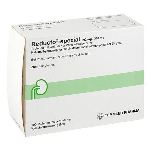 REDUCTO Spezial �berzogene Tabletten 100 St�ck N3