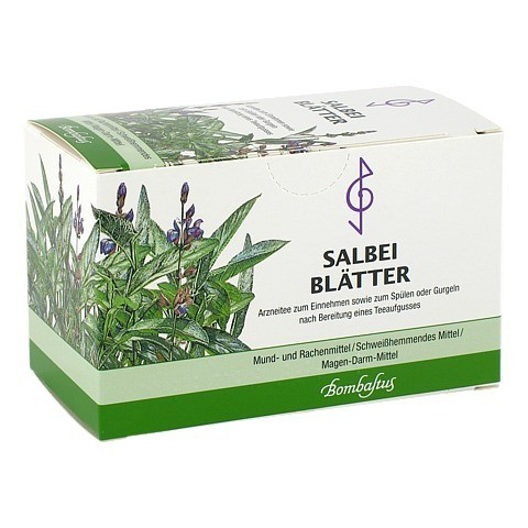 SALBEIBLÄTTER Tee Filterbeutel 20x1.5 Gramm