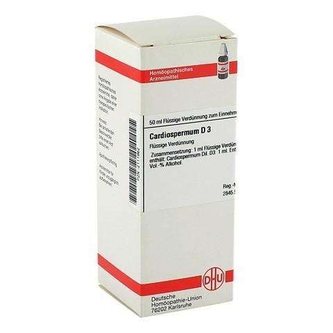 CARDIOSPERMUM D 3 Dilution 50 Milliliter N1