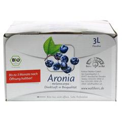 ARONIASAFT 3 Liter - Rückseite