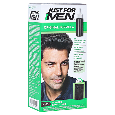 JUST for men Tönungsshampoo schwarz 60 Milliliter