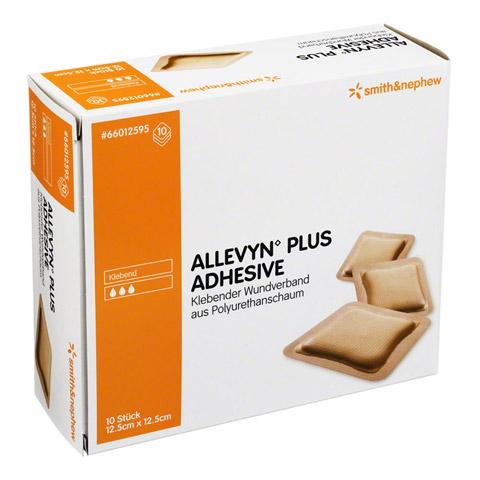 ALLEVYN Plus Adhesive 12,5x12,5 cm Schaumverband 10 St�ck