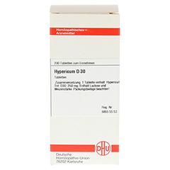 HYPERICUM D 30 Tabletten 200 Stück - Vorderseite