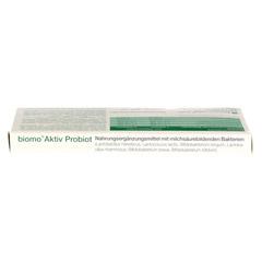 BIOMO Aktiv Probiot Kapseln 15 Stück - Unterseite
