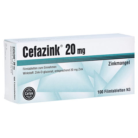 Cefazink 20mg 100 St�ck N3